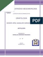 Antología de grafología_Griselda Mariano Resendis