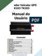 Manual Atualizado Rastreador Gps Tk102 Tk103 Tk203