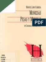 Medidas y Pesas en Siglo Xvi en Canarias