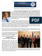 13 p. Palm Beach County GOP Newsletter -June 2012