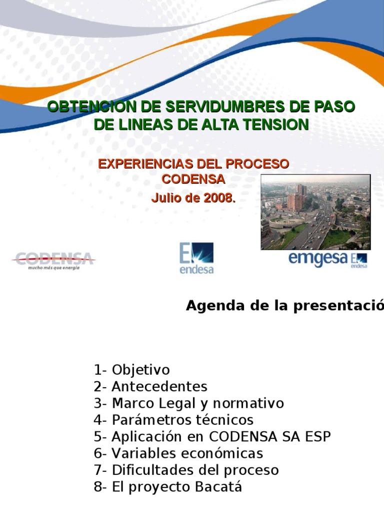 Presentacion de Servidumbres Codensa-23!07!08