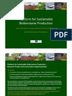 Biokerosene Project