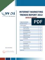 Internet Marketing Trends Report UK & Europe 2012 by WSI Online