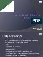 History of Social Casework