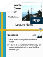 SU-Wind Turbines Lecture Notes