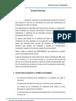 Formula Polinomica Ingeniería Civil UCV