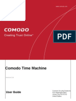 Comodo Time Machine User Guide
