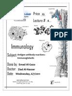 Immuno . Lec 4