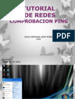 Manual Redes Comprobacion Ping Julia Leon 1101