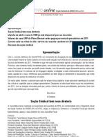 Informativo Online n° 1