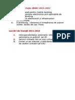 Lucrări de dizertaţie si licenta 2011-2012