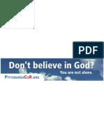 Pittsburgh Coalition of Reason Ad