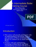 Basic & Intermediate Boilers Training Course