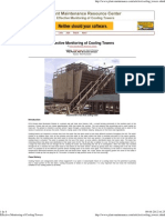 Effective Monitoring of Cooling Towers