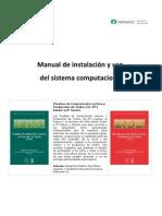 Manual de Instalación y Uso del Sistema Computacional Pruebas CL-PT