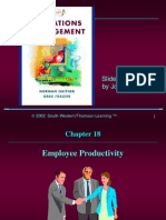 g Eproductivity 18