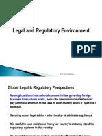 3 Legal & Regulatory Environment