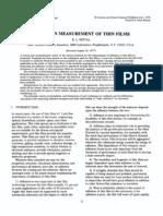 Adhesion Measurment of Thin Films Mittal