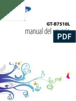 Manual Samsung Galaxy Pro