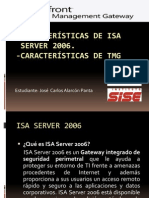 Características de Isa y TMG