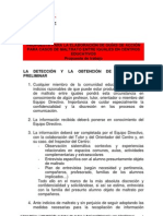 Protocol Bullying Defensor Menor Madrid