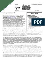 June 2012 Community Bulletin