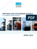 Natural Gas for Marine Vessels - $50 Million for LNG production