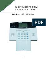 Smart LCD GSM Alarma