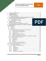 Estudio Impacto Ambiental Camaronera LEBAMA