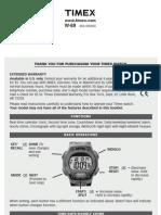 Timex Manual