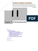 Chapter 3- Electrochemistry -- Make Homemade Batteries in Your Kitchen
