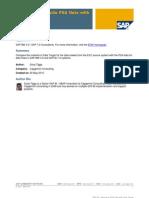 SAP BI – Reconcile PSA Data with Data Target