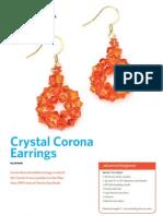 Corona Crystal Earrings