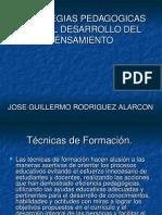 ESTRATEGIAS PEDAGÓGICAS PARA EL DESARROLLO DEL PENSAMIENTO