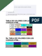 Color de Fondo HTML