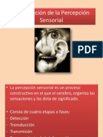 Estimulación de la Percepción Sensorial