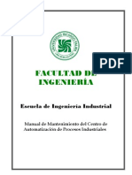 Manual de Mantenimiento Del Centro