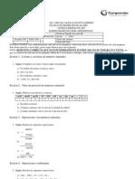 Examen Diagnostico II