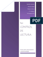 1er Control de Lectura