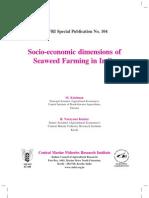 Economic Dimensions of Seaweed Farming in India