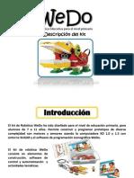 Uso de Robotica Educativa Wedo