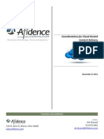 Considerations for Cloud-Hosted Content Delivery