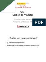 Taller de Gestion de Proyectos