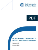 WCPT Glossary2011 Version1 MASTER