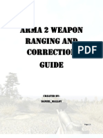 Arm a 2 Weapon Ranging and Correction Guide