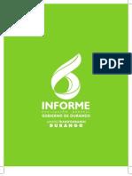 6to Informe de Gobierno - Ismael Hernández Deras