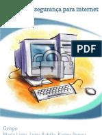 Trabalho de português. Segurança na Internet