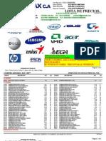 Lista de Precio Micro Max c.a 03 de Mayo Del 2012