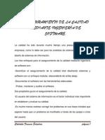 ASEGURAMIENTO DE LA CALIDAD MEDIANTE INGENIERÍA DE SOFTWARE
