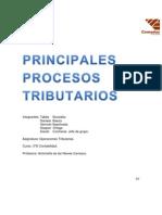 Principales Procesos Tributarios